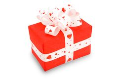 Gift. (clipping path.) Stock Images