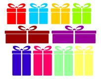 Gift collection Stock Image