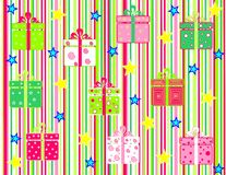 Gift collection Royalty Free Stock Image