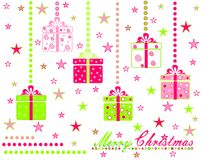 Gift collection Royalty Free Stock Photography