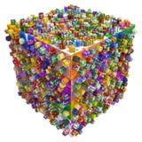 Gift Collection, Cube Stock Photos