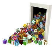 Gift Collection, Door Royalty Free Stock Photos