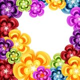 Gift colorfull floral design background. Gift colorfull  floral design vector background Stock Images