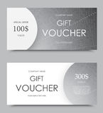 Gift company voucher template Stock Photo