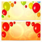Gift coupon (voucher, invitation or card) template royalty free stock photo
