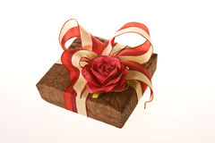 Gift cover Royalty Free Stock Images