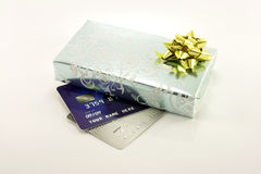 Gift and Credit Cards Stock Images