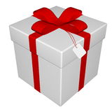 Gift - 3D render Royalty Free Stock Photo