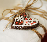 Gift decorated Royalty Free Stock Photos