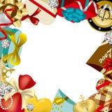 Gift decoration Frame Royalty Free Stock Photo