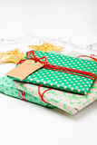 Gift and decorations Royalty Free Stock Photos