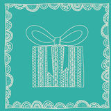 Gift design Stock Photos
