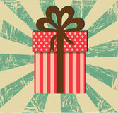 Gift design Royalty Free Stock Photography