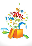 Gift discount Royalty Free Stock Photography