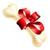 Gift Dog Bone Illustration Stock Photography