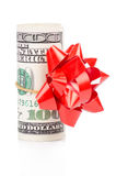 Gift dollar Stock Photography