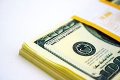 Gift dollars Stock Images