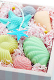 Gift. Domestic soap Royalty Free Stock Photo