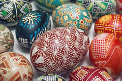 Gift Easter eggs Royalty Free Stock Photography