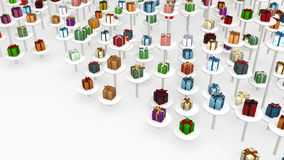 Gift, Elevated Stock Image