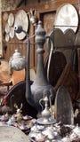 Gift en antieke winkel stock afbeeldingen