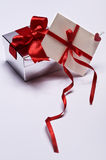 Gift with envelope Royalty Free Stock Images