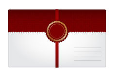 Gift envelope Royalty Free Stock Photo