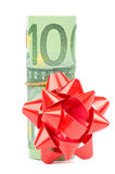 Gift  Euro Stock Images