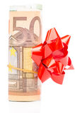 Gift  Euro Royalty Free Stock Images