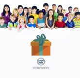 Gift Festive Holidays Occasion Celebration Concept Stock Photo