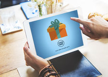 Gift Festive Holidays Occasion Celebration Concept Stock Photography