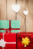 Gift focus Stock Images