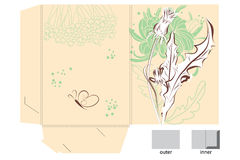 Gift folder Royalty Free Stock Photo