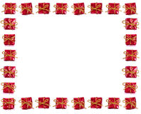 Gift frame Royalty Free Stock Photography