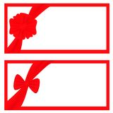 Gift frames Royalty Free Stock Photography