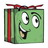 Gift Funny expression characters Stock Photo