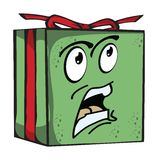 Gift Funny expression characters Stock Photography