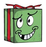 Gift Funny expression characters Stock Images