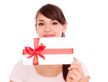 Gift girl Stock Photo