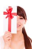 Gift girl Royalty Free Stock Photos