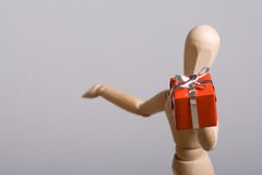 Gift giving Royalty Free Stock Photos