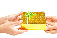 Gift giving Stock Photos