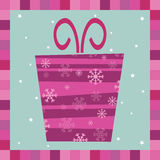 Gift greeting card Royalty Free Stock Photos