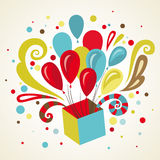 Gift greeting card. Stock Photo
