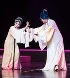 """Gift hairpin-The Purple Hairpin--jiangxi opera""""four dreams of linchuan"""" Stock Images"""