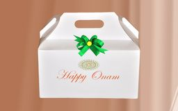 Gift hamper Royalty Free Stock Photo