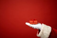 Gift on hand Royalty Free Stock Photography
