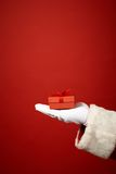 Gift on hand Royalty Free Stock Image