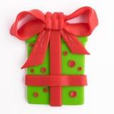 Gift handmade. Gift is handmade.  on white background Stock Photography