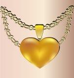 Gift heart Stock Photos